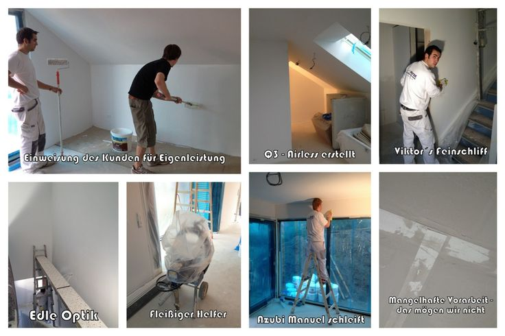 73 besten maler heyse die crew bilder auf pinterest. Black Bedroom Furniture Sets. Home Design Ideas