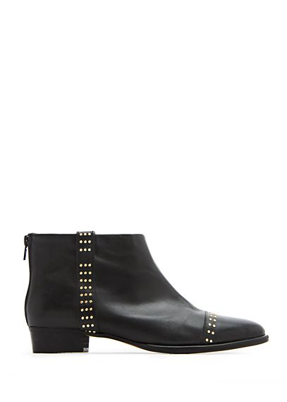 MANGO - Leather masculine ankle boots-if only I had smaller feet!