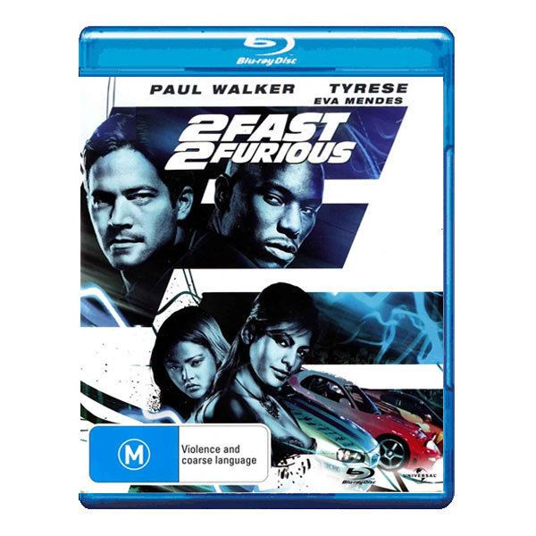 2 Fast 2 Furious Blu-ray Brand New Region B Aust. - Roman Pearce