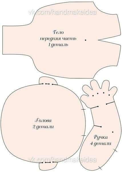 Boneco - molde 2