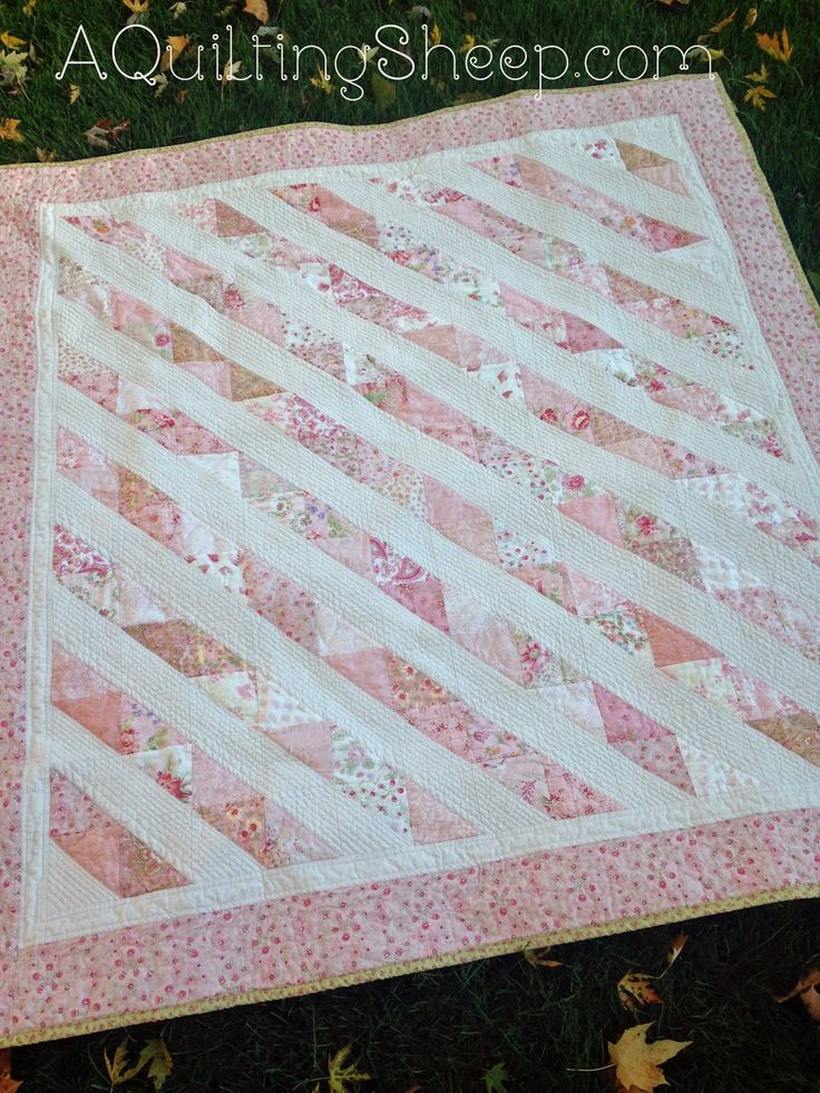 Shabby Chic Pink ~ by A Quilting Sheep