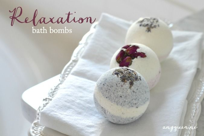 Bath bombs made with young living essential oils- so relaxing!