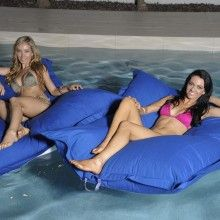 Our Floating Pool Bean Bags are very popular !