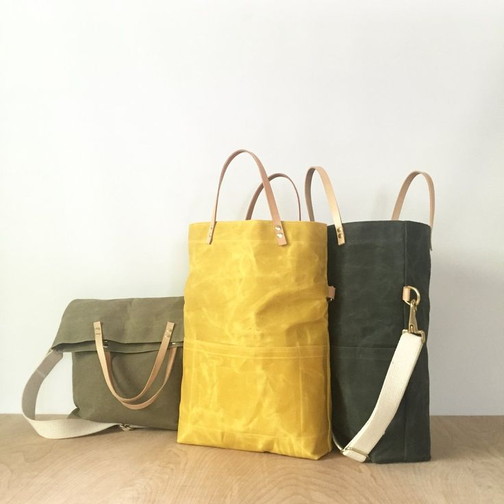 Meet the newest addition to our collection - the field bag! With the option to carry it as a tote or as a crossbody this is the perfect everyday bag. Waxed canv
