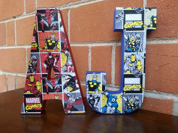 MARVEL Comic Party Decoration/Centerpiece by TheLoveisIntheDetail