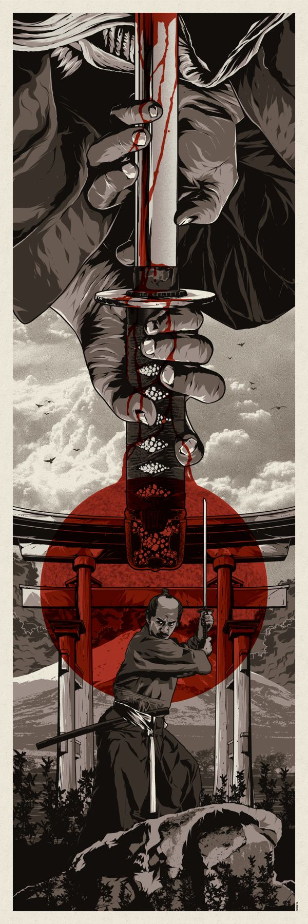 A Warrior's Dream Part II by Anthony Petrie, via Behance