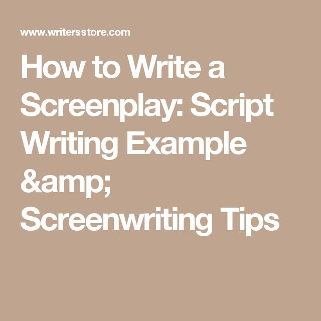 tips for writing a script Always have a spare script, say the recent recipients of a new comedy award - and remember, few jokes are uncuttable.