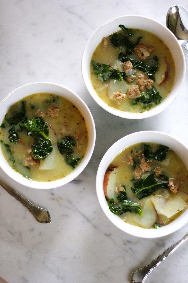 Tuscan Kale, Turkey Sausage and Potato Soup — The Daily ...