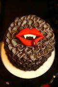 Halloweekend Countdown: True Blood Dessert Table on http://blog.amyatlas.com