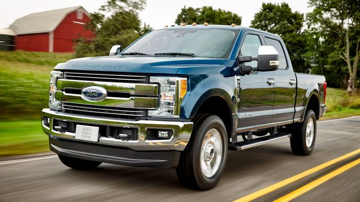 The new cars 8 : Ford F250 Super Duty Diesel 2017