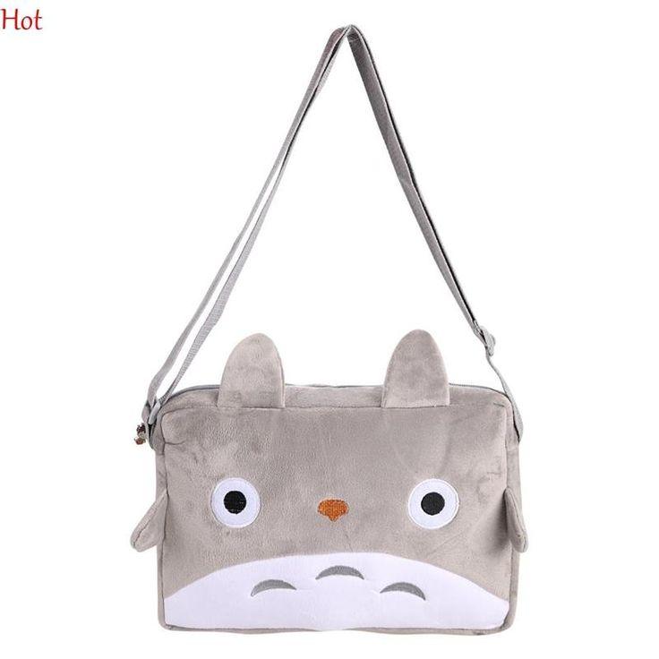 Totoro Cartoon Cat Crossbody Bags Plush Phone Plush Bag Purse Cute Gray Shoulder Bag Pendant TOY Gift Coin Kawaii Bag SV005711 - Top Kawaii - Best Online Kawaii Shop Top Kawaii - Best Online Kawaii Shop