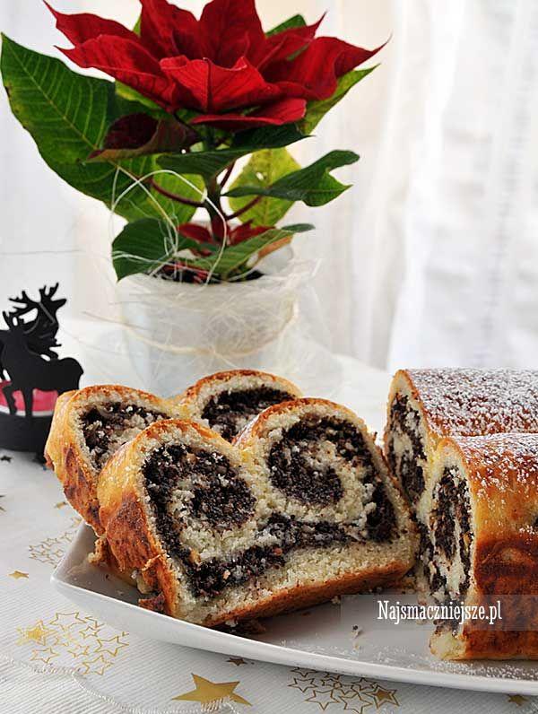 Strucla makowa, strucla, makowiec, Boże Narodzenie, Święta, http://najsmaczniejsze.pl #food #przepis #strucla #,akowiec