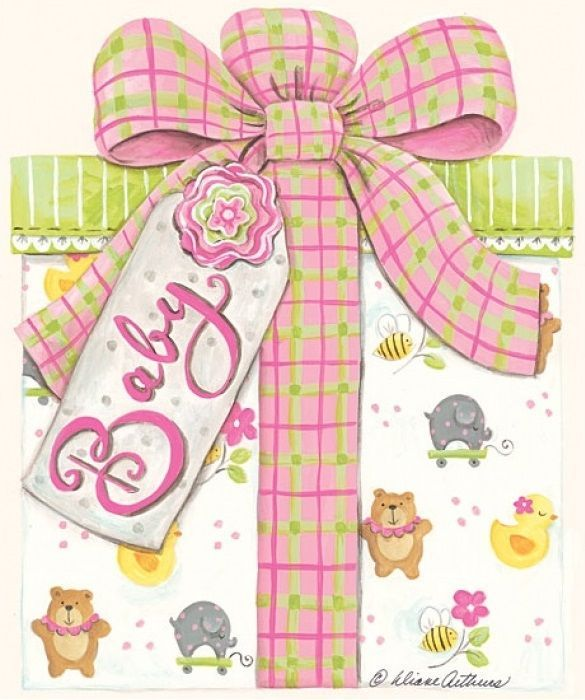 clipart for baby shower cards - photo #32