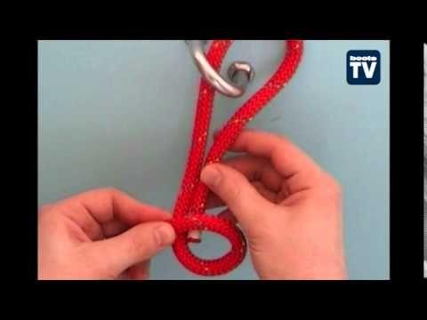 BOOTE-TV: Eine genaue Anleitung zum Palstek (Knoten Teil 1)