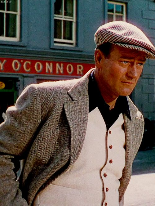 John Wayne in The Quiet Msn (1952) My Grandmother was always one of his biggest fans.