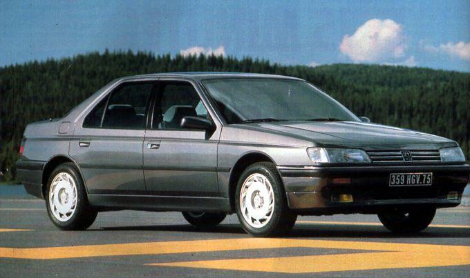 Le+faux+départ+de+la+Peugeot+605+SV24