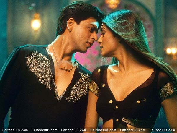 Shahrukh Khan and Sushmita Sen - Main Hoon Na (2004)