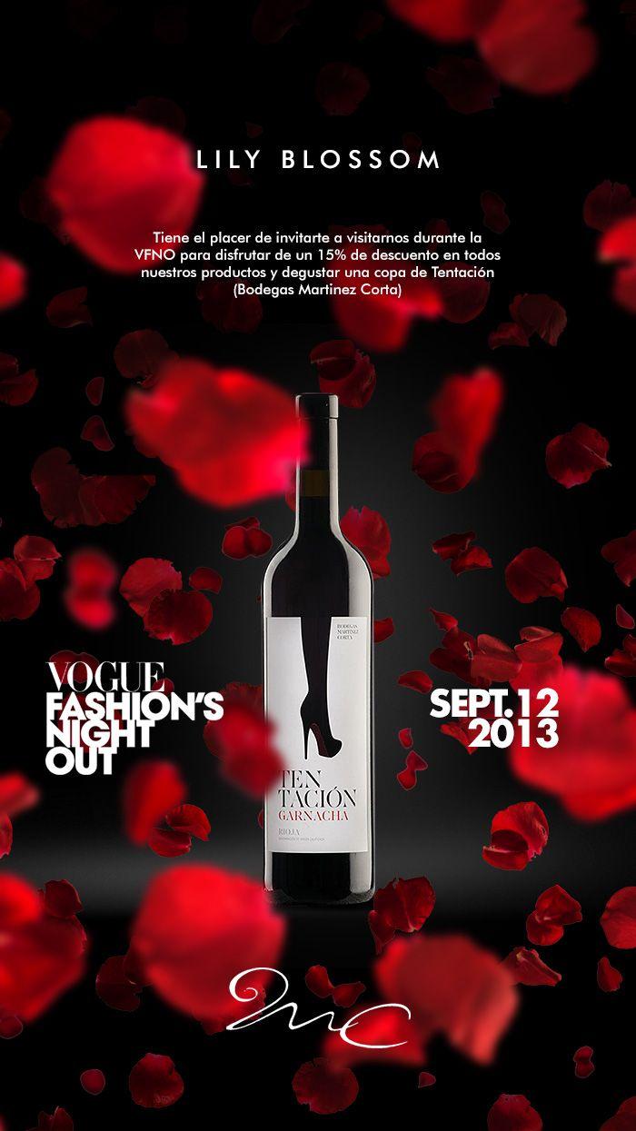 Visita Lily Blossom durante las VFNO de Madrid y degusta nuestro vino Tentación en exclusiva