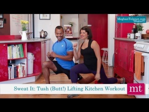 4 Butt Lifting Exercises To Do In The Kitchen | Meghan TV