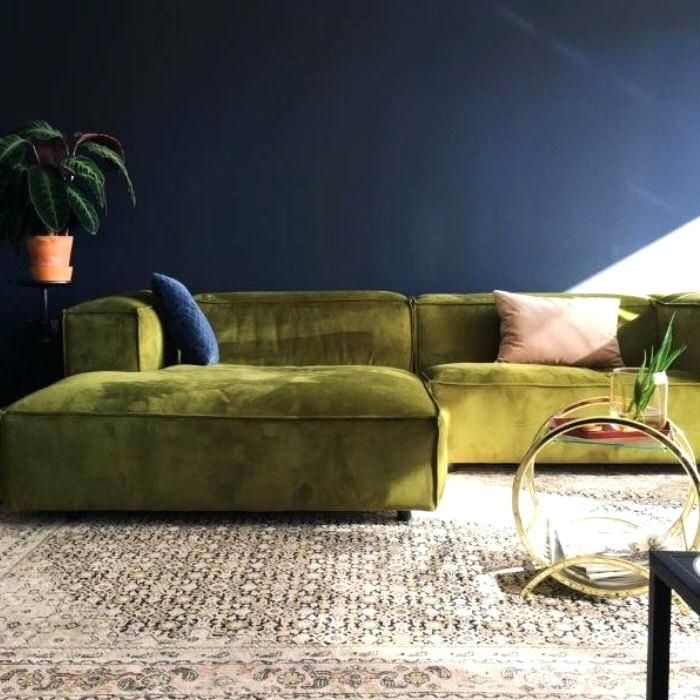 10+ Amazing Olive Green Couch Living Room