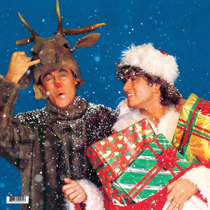 "Wham! - Last Christmas 12"" LP Single (Red/Green Vinyl)"