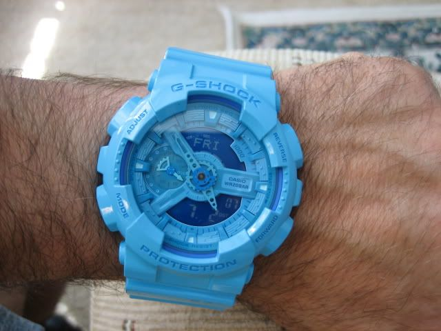 Blue G-Shock Watches 2015 | http://crackwatches.com/blue-g-shock-watches-2015/