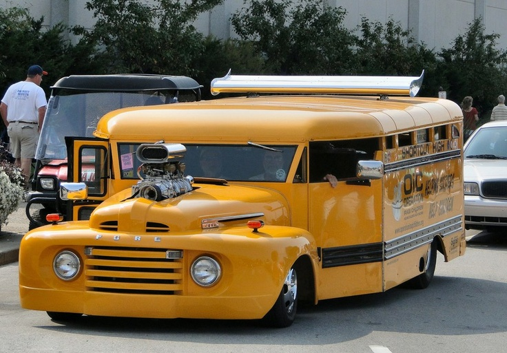 The Coolest School Bus In The World Classic Unique All - Easily coolest school world
