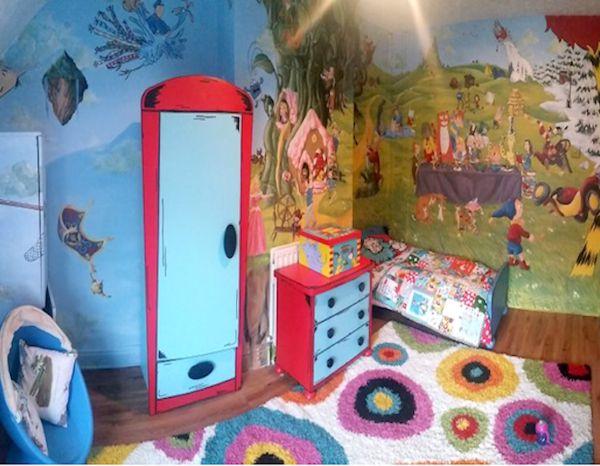 mehrteilige bilder für Kinderzimmer mit Helden aus Märchen 1