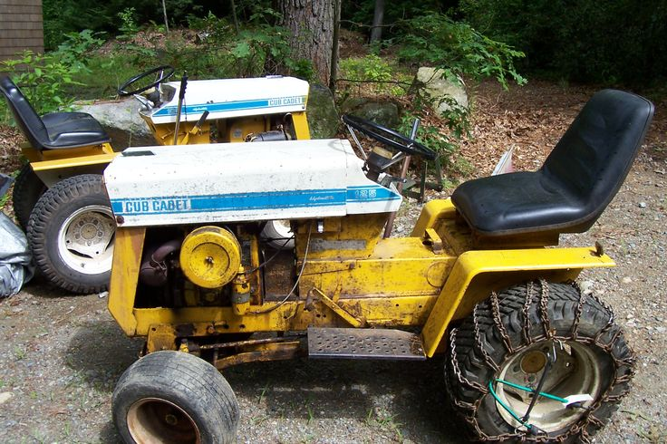 Old International Cub Cadet Lawn Tractor : Best vintage tractors riding mowers push