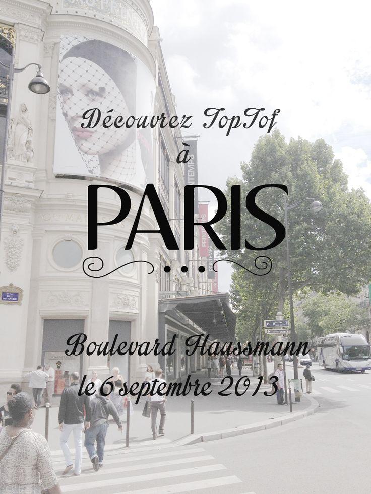 Découvrez TopTof a Paris!