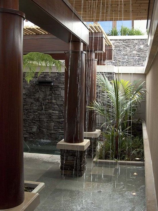 outdoor shower/Hawaii   Twist my arm.  :)  Tropical Design, Pictures, Remodel, Decor and Ideas - page 6