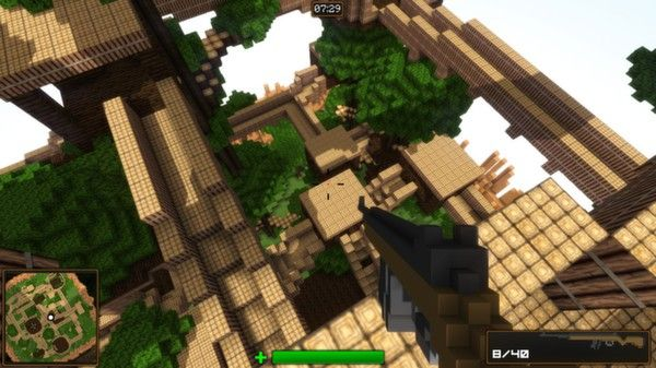 Blockstorm, an FPS made out of destructible blocks http://bit.ly/1nrC7ht #indiegames #videogames #gamesinitaly