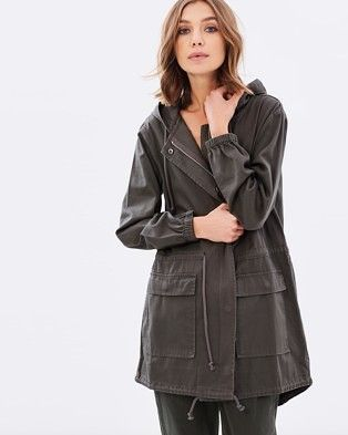 Buy Baxter Cotton Parka by Nude Lucy online at THE ICONIC. Free and fast delivery to Australia and New Zealand.