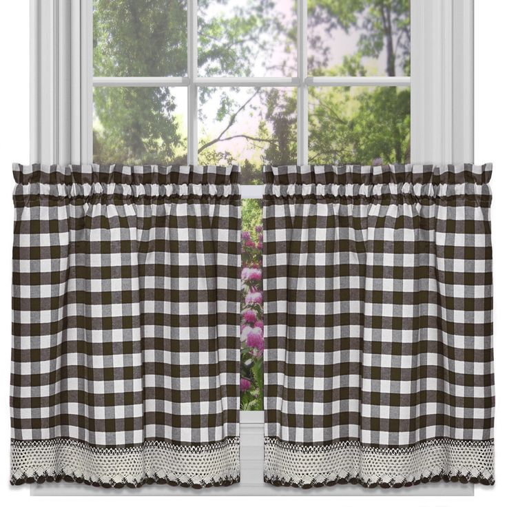 1000 Ideas About Cafe Curtains Kitchen On Pinterest: Kitchen Curtains, Cafe Curtains And Valances
