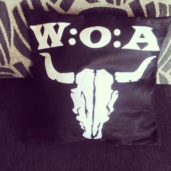 Coussin Wacken de seasonfall creation sur DaWanda.com
