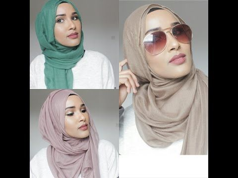 HIJAB TUTORIALS | MY 3 MOST WORN STYLES - YouTube
