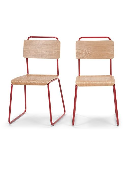 smart design furniture. the hill dining chairs in ash and red clean smart design 199 furniture b