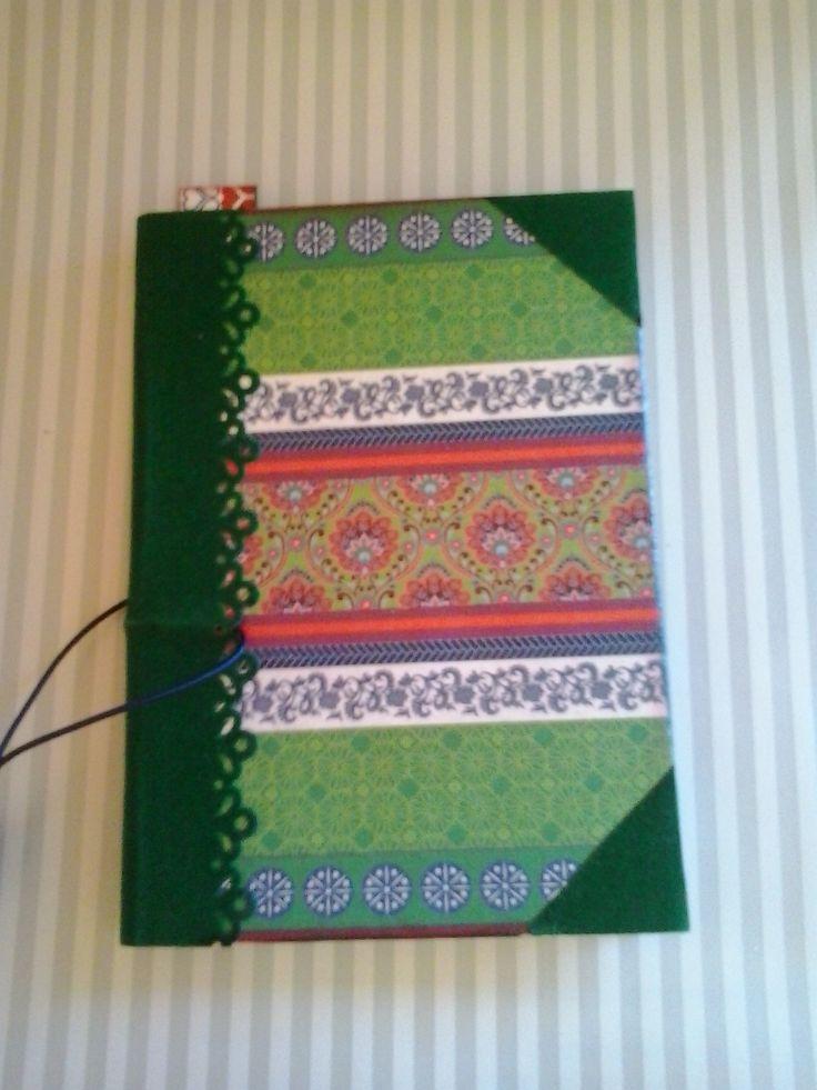 libreta molesquine verde
