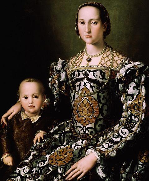 renaissance paintings of women | womeninrenaissanceart - Portrait of Eleonora di Toledo