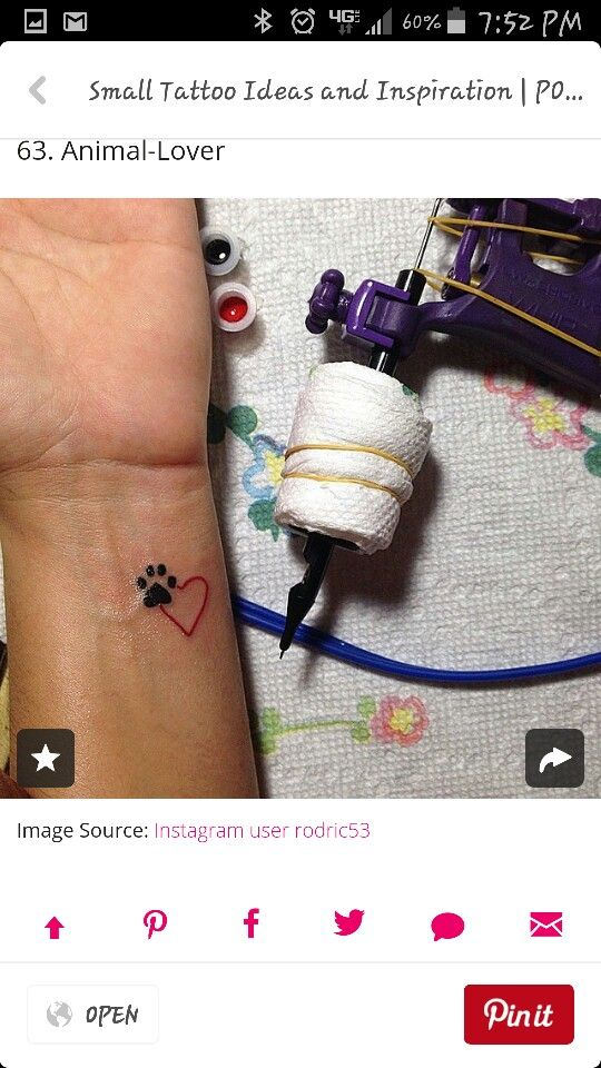 110 Small & Tiny Tattoos For Girls