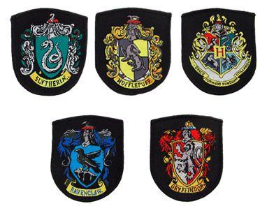 Deze 5 replica Zweinstein Harry Potter™ wapenschilden