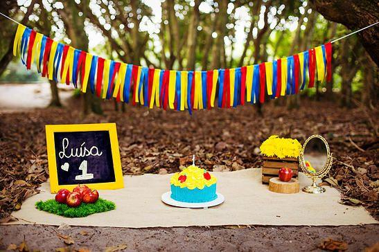 Baby Luísa | Smash the cake da branca de neve