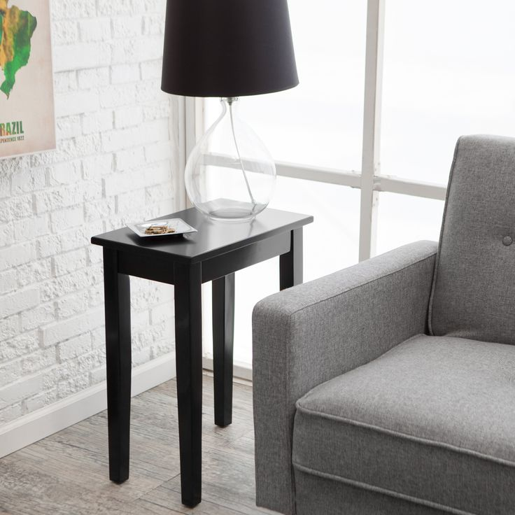 Turner Chair Side Table - Black - WSN04-CSB
