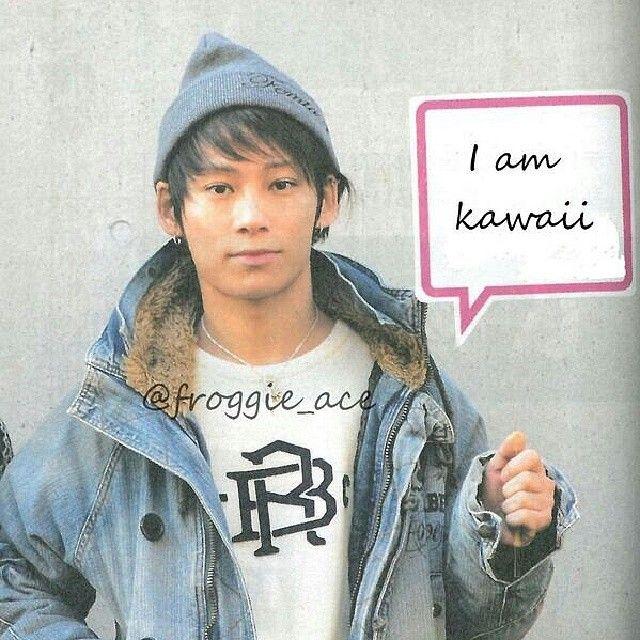 HE IS KAWAII!