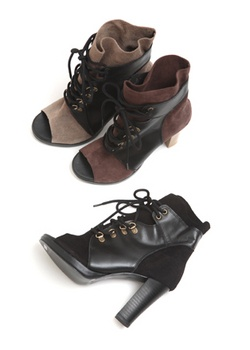 Strap toe - Open Shoes  $49