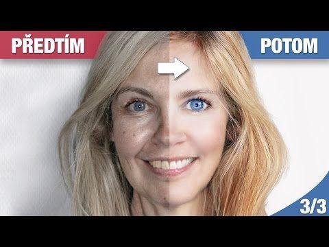 V tomto třetím závěrečném dílu o úpravě ženského portrétu ve Photoshopu se naučíte, jak vyrobit líčení, jak přidat řasy, upravit tvar obličeje, zaostřit obraz a další... | Photoshopové Orgie
