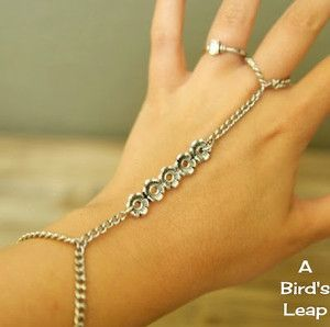 Bohemian Bride Bracelet- Gorgeous and simple, this beginner level jewelry is a great piece to have the bride or the bridesmaids wear.