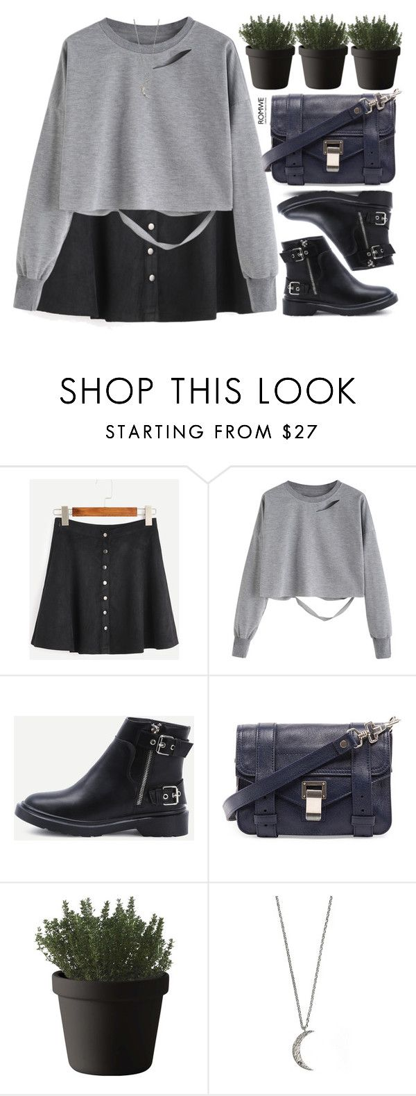 """""""no stress"""" by mihreta-m ❤ liked on Polyvore featuring Proenza Schouler, Muuto and Wanderlust + Co"""