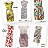 flower sophisticated #wedding guest #dresses you can dance in! @1fabday