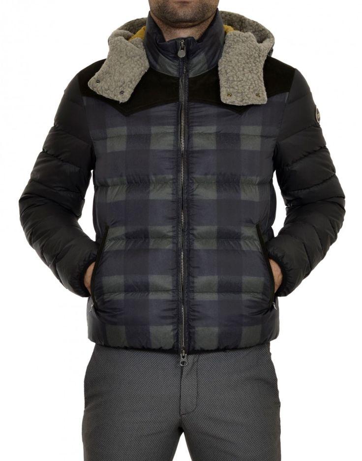 Piumino #Colmar da uomo 20% di sconto ► http://www.marsilistore.it/abbigliamento/bomber-check-cappuccio-ecoshearling.html